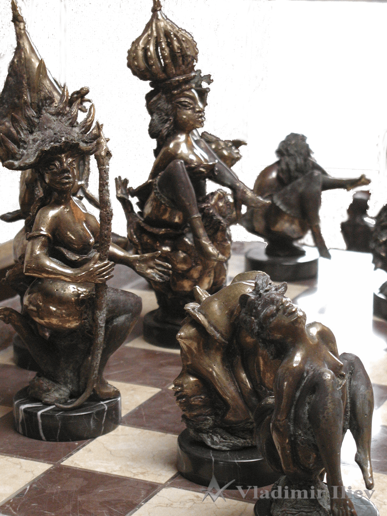 Erotic Chess Set