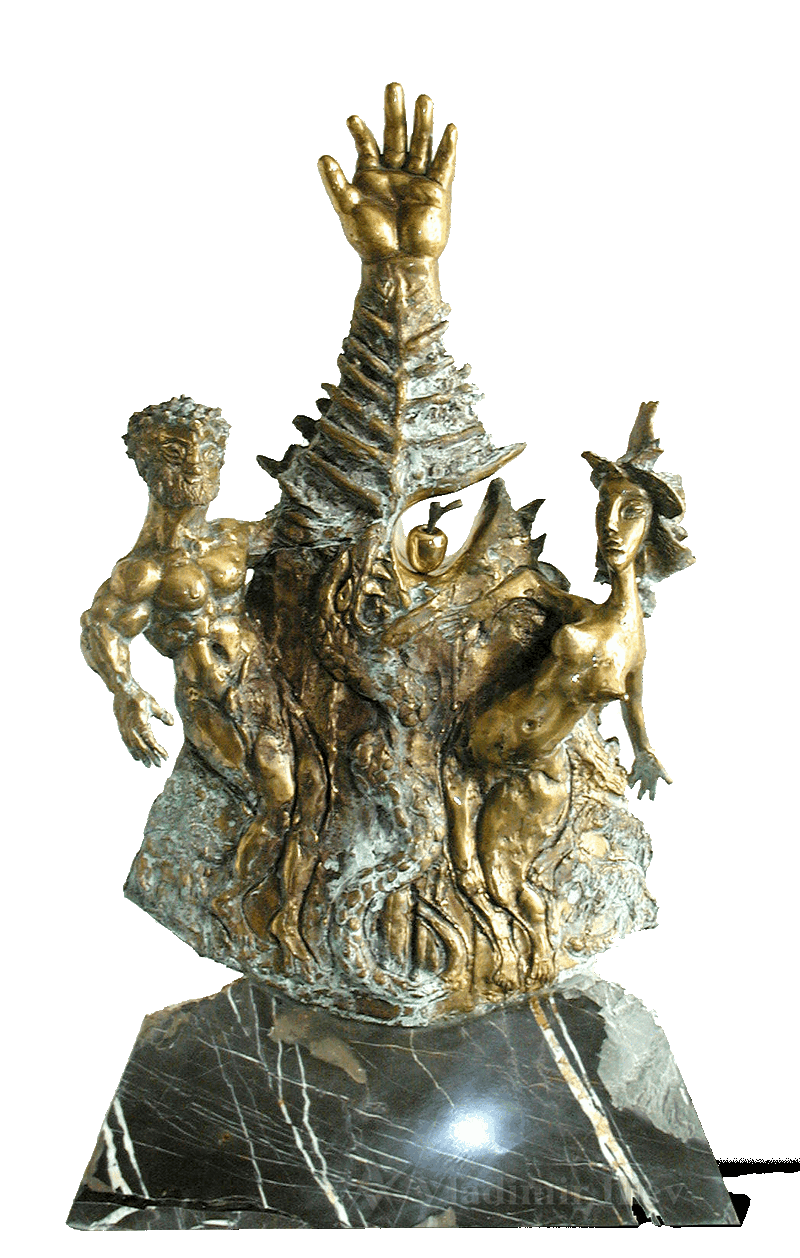 Original Sin Mythical sculpture